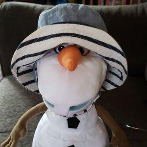 Baby Gap 18M Reversible Denim Stripe Sun Hat